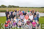 Patrick Lawlor (seated centre) celebrated his 60th Birthday at his Home in Hazel Park, Ardfert on Sunday with family and friends. Front l-r: Cian McKenna, Pauric,Joanna,Christopher,Erin and Eric Walsh,Michael Lacey,  James  lawlor, Niall McKenna, Colin Walsh, Sean O'Connor, Lauren McGrath, Ciara Lawlor, Ava and Rory O'Halloran. Seated l-r: Doreen Dunne, Michael, Kieran,Patrick (60th Birthday), Threresa and Damian Lawlor and Trish Nevalinin. Back l-r: Kevin Geary, Evive and Nicola Lawlor, Noreen O'Halloran, Greg Claffrey, Marketta Nevalinin, Pa Lacey, Betty Duggan, Bridie McCarthyBatt Lawlor, Kathleen Lowlor, Pat and Barry Duggan, Mary and Murty Lawlor,Paul NEvalinin,Brifget McKenna, Sinead O'Connor, Naoimi and Cormac O'Connor ...