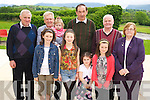 Pictured at the Milltown/Listry Ceomhaltas Ceili in the Killarney Country Club on Sunday were Kelly O'Halloran, Chloe Howe, Rebecca Howe, Lisa O'Halloran, James Giles, Harry Higgins, Sophia Campion, Denis Courtney, Christy Moriarty and Margaret O'Connor...................