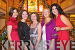 Pictured at the designers showcase at the Plaza Hotel on Friday from left: Carol Kennelly, Ann Marie O'Leary, Elma Mulrooney Claire Murphy and Ann Kahraman.