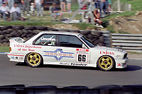 Round 10 of the 1991 British Touring Car Championship. #66 John Llewellyn (GBR). TechSpeed Racing. BMW M3.