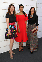 "LOS ANGELES, CA July 13- Sandrine Ricard, Leila Jahna, Patricia Ricard, At Chivas Regal ""The Final Pitch"" at The LADC Studios, California on July 13, 2017. Credit: Faye Sadou/MediaPunch"