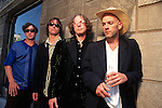 Various portraits of the rock band, R.E.M.