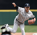 Masahiro Tanaka (Yankees), JUNE 3, 2015 - MLB : New York Yankees starting pitcher Masahiro Tanaka throws the ball against the Seattle Mariners at Safeco Field in Seattle, United States. (Photo by AFLO)