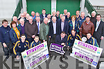 Pictured at the launch of of the Betdaq Kerry GAA night of champions in aid of Kerry GAA were were GAA members , players and supporters of the GAA. The Kerry GAA Race night at the Dogs will take place at the Kingdom Greyhound Stadium in Tralee Co Kerry on the 30th June.