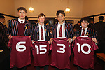Kings College - 1st XV Jersey Presentation, 26 June 2020