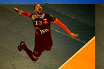 28.02.2018, Max Schmeling Halle, Berlin<br />Volleyball, 2018 CEV Volleyball Champions League, Vorrunde, Berlin Recycling Volleys (GER) vs. Jastrzebski Wegiel (POL)<br /><br />Aufschlag / Service Salvador Hidalgo Oliva (#13 Wegiel)<br /><br />  Foto © nordphoto / Kurth