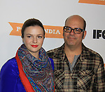 "General Hospital Amber Tamblyn ""Emily Quartermaine"" is in the production and poses with husband David Cross. - IFC comedy series Portlandia Season 3 New York Premiere Event on November 10, 2012 at American Museum of Natural History, New York City, New York. It is created, written by and stars Fred Armisen and Carrie Brownstein with executive producer Lorne Michaels. General Hospital Amber Tamblyn is in the production and poses with husband David Cross. (Photo by Sue Coflin/Max Photos)"