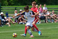 Westfield, IN - June 24, 2017: 2017 Development Academy Summer Showcase at Grand Park.