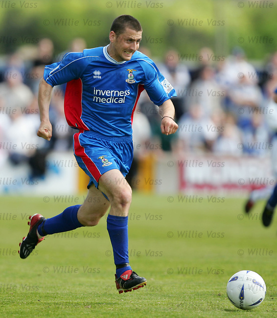 Roy McBain, Inverness Caley Thistle.stock season 2003-2004.pic willie vass