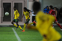 20190301 - LARNACA , CYPRUS : South African defender Lebogang Ramalepe (left) pictured during a women's soccer game between South Africa and Korea DPR , on Friday 1 March 2019 at the AEK Arena in Larnaca , Cyprus . This is the second game in group A for Both teams during the Cyprus Womens Cup 2019 , a prestigious women soccer tournament as a preparation on the Uefa Women's Euro 2021 qualification duels. PHOTO SPORTPIX.BE   STIJN AUDOOREN