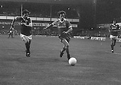 26/08/1980 Everton v Blackpool League Cup 2nd Round 1st Leg .Colin Morris first half attack....© Phill Heywood.