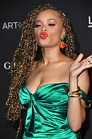 03 November 2018 - Los Angeles, California - Andra Day. 2018 LACMA Art + Film Gala held at LACMA.  <br /> CAP/ADM/BT<br /> &copy;BT/ADM/Capital Pictures