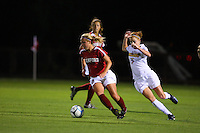14 September 2007: Stanford Cardinal Shari Summers during Stanford's 3-2 win in the Stanford Invitational against the Missouri Tigers at Maloney Field in Stanford, CA.