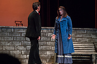 "(Freelance photo by Martha Benedict)<br /> <br /> Photo from open dress rehearsal of Pacific Opera Project's production of The Rake's Progress by Igor Stravinsky on September 15, 2016 in Thorne Hall.<br /> <br /> On September 17 and 18, the Music Department will sponsor Pacific Opera Project (""POP"") for a full production of one of the most-performed English-language operas ever, The Rake's Progress,  which was written by the Russian composer Igor Stravinsky here in Los Angeles in the late 1940s. The opera was premiered in Venice in 1951. The Rake's Progress is the retelling of a common story throughout literature, the Faustian tale of a young man who is tricked by the devil into giving up all the good things he has in life to pursue his wildest dreams. Written by W. H. Auden and Chester Kallman after a series of etchings entitled A Rake's Progress (1735) by William Hogarth, the story is originally set in 18th Century England. <br /> <br /> POP's production engages Oxy's Core Curriculum theme for the 2016-2017 academic year, ""Re-envisioning Metropolis:  Los Angeles and the Urban Arts."" As Stravinsky was writing this opera in North Hollywood and at a time that Los Angeles was ripping up its red cars and expanding through the freeway, the meditation on the perils of urban ""progress"" that is The Rake's Progress resonate to this day. In addition to the remarkable cast listed below, The Occidental College Glee Club will serve as the chorus for the production, while production students in Oxy's Theater Department will assist behind the scenes.<br /> <br /> (Freelance photo by Martha Benedict)"