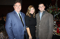 NWA Democrat-Gazette/CARIN SCHOPPMEYER Shawn and Barbara (from left) and Levi Baldwin enjoy the Jewels of Giving Gala.