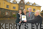 AWARD: Senior staff at the Johnson Marina are to be presented with a EIQA Hygiene Certificate today (Thursday). From l-r: Catherine Leen, Michelle Carnegie, Jamie Carnegie and Elaine O'Connor.   Copyright Kerry's Eye 2008