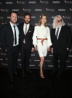 LOS ANGELES, CA - NOVEMBER 4: Matthew Heineman, Jamie Dornan, Rosamund Pike and Robert Richardson at the 10th Hamilton Behind the Camera Awards hosted by Los Angeles Confidential at Exchange LA in Los Angeles, California on November 4, 2018. <br /> CAP/MPI/FS<br /> &copy;FS/MPI/Capital Pictures