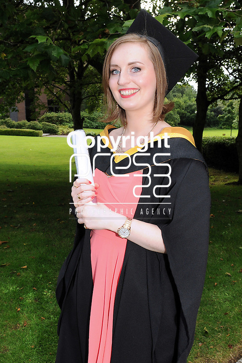 With Compliments,  26/8/2015  Attending the University of Limerick Conferrings was Eibhlin Langtry, Virginia, Cavan, who was conferred with a BSc in Music, Media and Performance Technology.<br /> Pic: Gareth Williams / Press 22