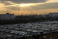 Brilliance Zhonghua cars parking at Brilliance Auto in Shenyang, Liaoning province, China.  .21 Nov 2006