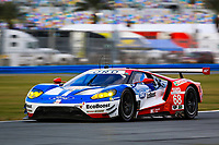 5-8 January, 2017, Daytona Beach, Florida USA<br /> 68, Ford, Ford GT, GTLM, Billy Johnson, Stefan Mucke, Olivier Pla<br /> ©2017, Barry Cantrell<br /> LAT Photo USA