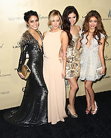 BEVERLY HILLS, CA - JANUARY 13: Vanessa Hudgens, Ashley Tisdale, Selena Gomez and Sarah Hyland at the The Weinstein Company 2013 Golden Globes After Party at the Beverly Hilton Hotel in Beverly Hills, California on January 13, 2013. Credit:  MediaPunch Inc. /NortePhoto