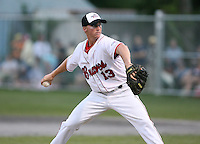 July 28th 2007:  Jordan Flasher during the Cape Cod League All-Star Game at Spillane Field in Wareham, MA.  Photo by Mike Janes/Four Seam Images