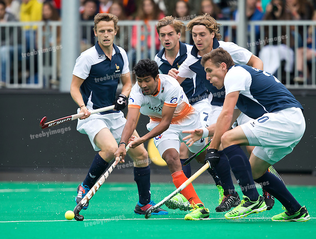 20/06/2015<br /> HWL Semi Final Antwerp Belgium 2015<br /> France v India Men<br /> Devindar Walmiki <br /> Photo: Koen Suyk