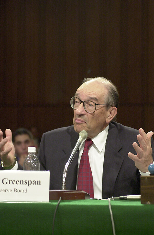Greenspan A.1(DG) 072000 -- Alan Greenspan, chairman of the Federal Reserve testifies before at the  Federal Reserve Report Full committee hearing on the  Federal Reserve's Monetary Policy Report.