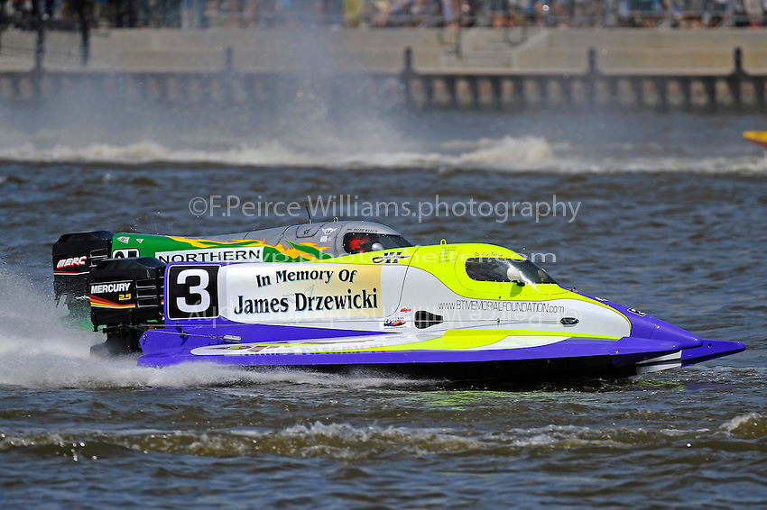 Dustin Terry (#3)  and Tyler Welch (#95)  (Formula 1/F1/Champ class)