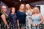 Women in Media: Attending the Women in Media  at Kilcooly's Country House hotel on saturday evening last were Mary Beary, Louise Ni Fhiannadta, Eilaish Broderick, Miriam O'Callaghan & Mary Stack.