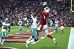 Arizona Cardinals wide receiver Jaron Brown in action during an NFL game captured with the Sony camera a9.