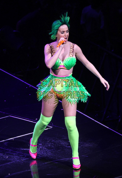 WASHINGTON, D.C. - JUNE 25: Katy Perry in Concert during her Prismatic World Tour at the Verizon Center in Washington, D.C. on June 25, 2014.  <br /> <br /> CAP/MPI/mpi34<br /> &copy;mpi34/MediaPunch/Capital Pictures