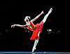 English National Ballet <br /> Emerging Dancer 2016 <br /> at the Palladium, London, Great Britain <br /> 17th May 2016 <br /> rehearsals<br /> <br /> <br /> Pas de deux <br /> Diana and Acteon <br /> choreography by Agrippina Vaganova<br /> <br /> <br /> Rina Kanehara<br /> <br /> <br /> <br /> <br /> <br /> Photograph by Elliott Franks <br /> Image licensed to Elliott Franks Photography Services