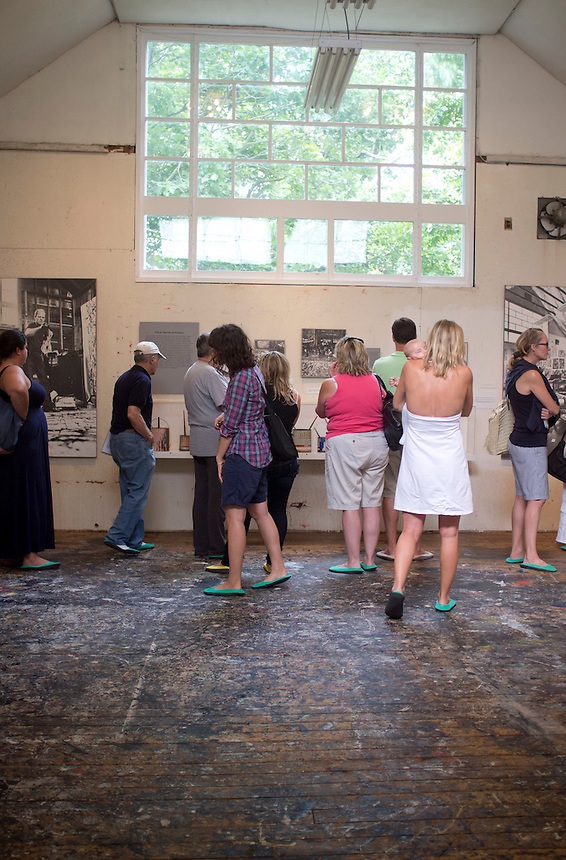 Jackson Pollock Lee Krasner studio and house in Springs, Long Island.  New York 2012