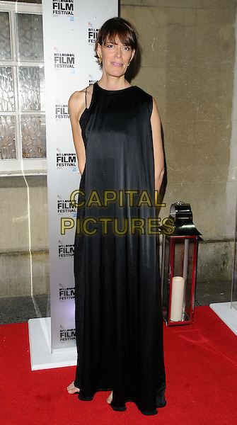 Clio Barnard<br /> attended the BFI London Film Festival Awards 2013, 57th BFI London Film Festival day 11, Banqueting House, Whitehall, London, England, UK, 19th October 2013.<br /> full length black dress <br /> CAP/CAN<br /> &copy;Can Nguyen/Capital Pictures