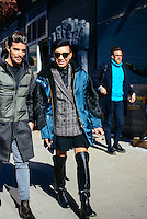 Bryan Yambao (Bryanboy) attends Day 2 of New York Fashion Week on Feb 13, 2015 (Photo by Hunter Abrams/Guest of a Guest)