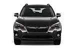 Car photography straight front view of a 2018 Subaru Crosstrek Limited CVT 5 Door SUV