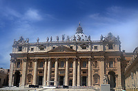 Michael McCollum.6/24/11.The main cathedral  in Vatican City.