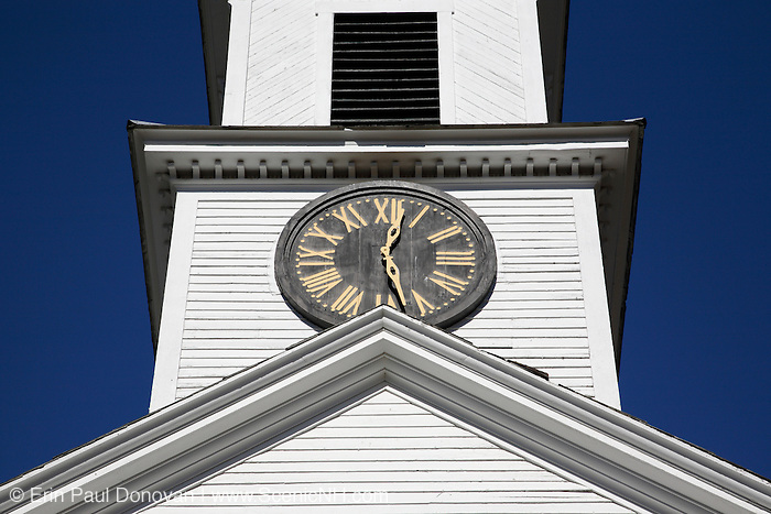 First Baptist Church in Cornish, New Hampshire  USA.