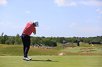 Justin Rose (ENG) tees off the 4th tee during Thursday's Round 1 of the 117th U.S. Open Championship 2017 held at Erin Hills, Erin, Wisconsin, USA. 15th June 2017.<br /> Picture: Eoin Clarke | Golffile<br /> <br /> <br /> All photos usage must carry mandatory copyright credit (&copy; Golffile | Eoin Clarke)