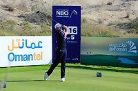 Julien Guerrier (FRA) during the third round of the NBO Open played at Al Mouj Golf, Muscat, Sultanate of Oman. <br /> 17/02/2018.<br /> Picture: Golffile | Phil Inglis<br /> <br /> <br /> All photo usage must carry mandatory copyright credit (&copy; Golffile | Phil Inglis)