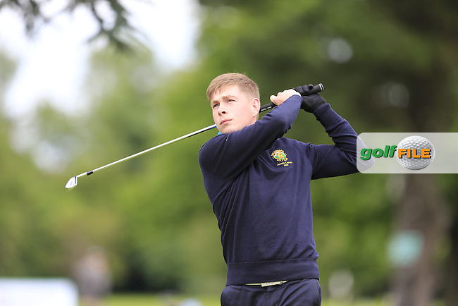 Tommy Doran (Balbriggan) during the first round of the Irish Boys Amateur Open Championship,Castle Golf Club, Dublin,  Ireland. 28/06/2016.<br /> Picture Fran Caffrey / Golffile.ie<br /> <br /> All photo usage must carry mandatory copyright credit (&copy; Golffile   Fran Caffrey)