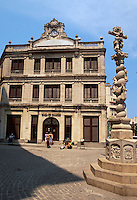 Cuba, Plaza San Francisco  in Habana, Unesco-Weltkulturerbe
