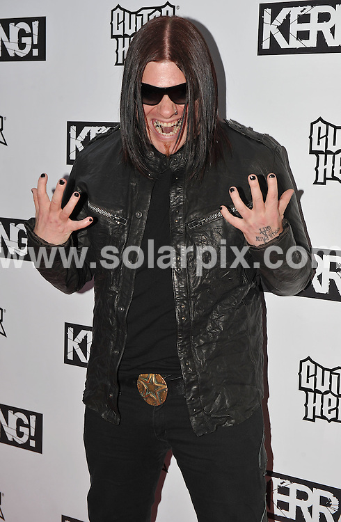 **ALL ROUND PICTURES FROM SOLARPIX.COM**.**WORLDWIDE SYNDICATION RIGHTS**.Inside arrivals at the Kerrang Awards 2009. Held at The Brewery, Chiswell Street, London, UK.  3 August 2009...This pic: Brent Smith..JOB REF: 9670 SSD     DATE: 03_08_2009.**MUST CREDIT SOLARPIX.COM OR DOUBLE FEE WILL BE CHARGED**.**MUST NOTIFY SOLARPIX OF ONLINE USAGE**.**CALL US ON: +34 952 811 768 or LOW RATE FROM UK 0844 617 7637**
