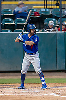 Rancho Cucamonga Quakes catcher Connor Wong (11) during a California League game against the Visalia Rawhide on April 8, 2019 in Visalia, California. Rancho Cucamonga defeated Visalia 4-1. (Zachary Lucy/Four Seam Images)