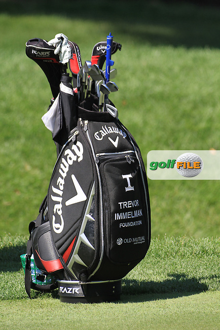 Trevor Immelman bag.on practice day of the USGA at Congressional, Bethesda, Washington, 15/6/11.Picture Fran Caffrey/www.golffile.ie
