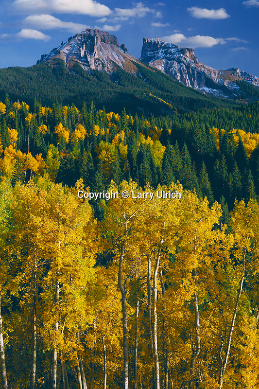 Aspens, Dunsinane and Precipice Peaks<br />