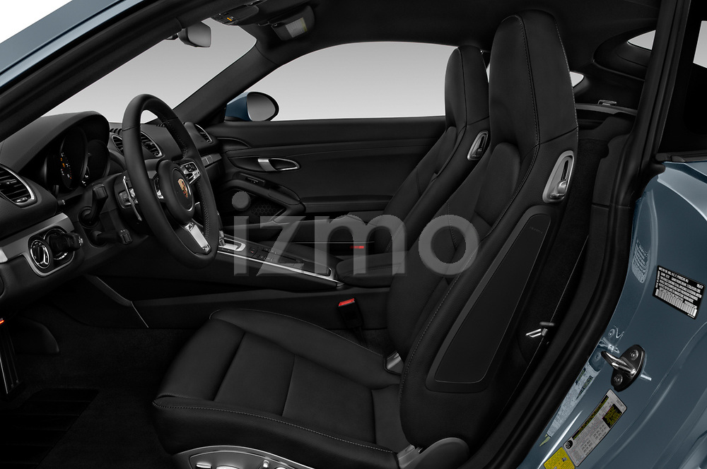 Front seat view of a 2017 Porsche 718 Cayman S 3 Door Coupe front seat car photos