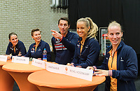 Den Bosch, The Netherlands, Februari 8, 2019,  Maaspoort , FedCup  Netherlands - Canada, Draw<br /> Photo: Tennisimages/Henk Koster
