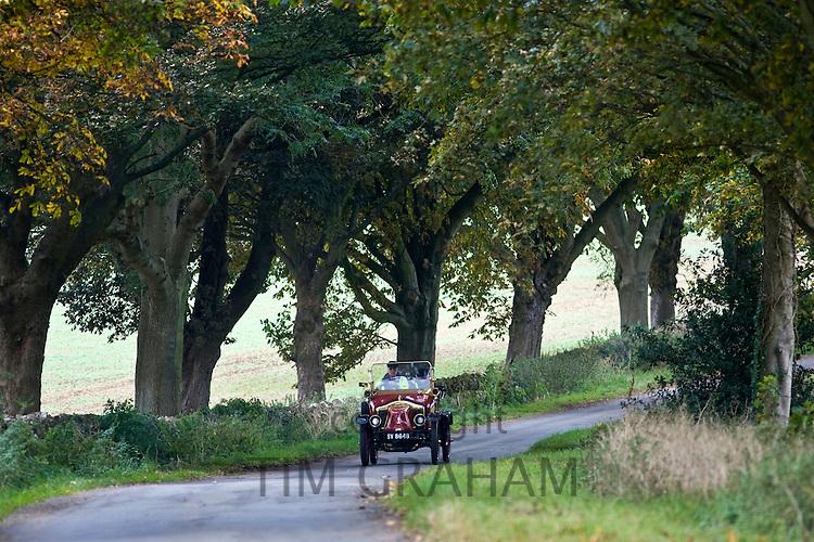 1912 Clément-Bayard vintage car on a Veteran Car Club rally around Gloucestershire, United Kingdom